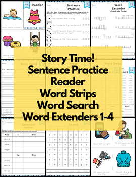 Word Work S Blends Bundle - Consonant Blends NO PREP