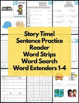 Word Work Short A Bundle NO PREP