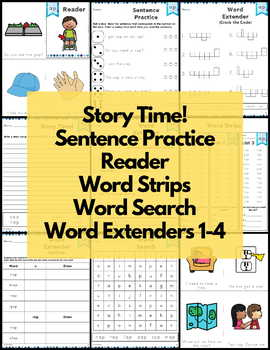 Word Work Short A Bundle NO PREP