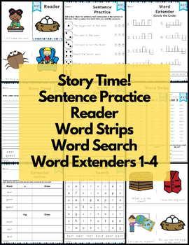 Word Work Short E Bundle NO PREP