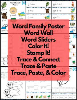 Word Work Silent Letters Bundle NO PREP