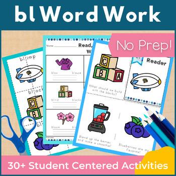 Word Work bl L Blends NO PREP