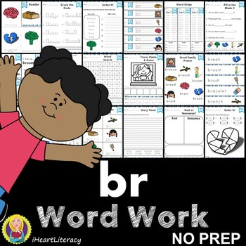Word Work br R Blends NO PREP