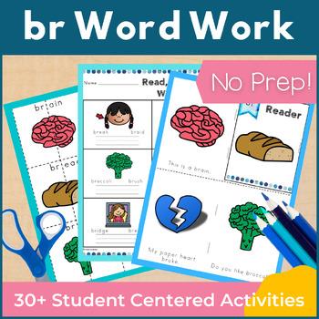 Word Work br R Blends NO PREP