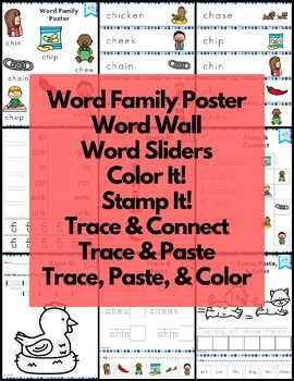 Word Work ch Digraphs and Trigraphs NO PREP
