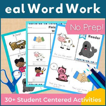 Word Work eal Word Family Long E NO PREP