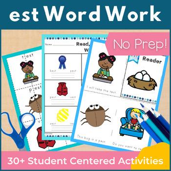 Word Work est Word Family Short E NO PREP