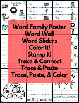 Word Work fl L Blends NO PREP