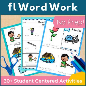 Word Work fl L Blends NO PREP