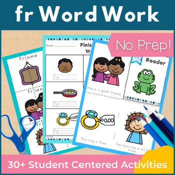 Word Work fr R Blends NO PREP