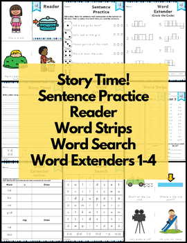 id Word Family Word Work and Activities - Short I