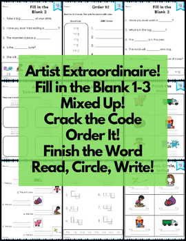 ig Word Family Word Work and Activities - Short I