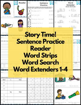 it Word Family Word Work and Activities - Short I