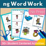 Word Work ng Digraphs and Trigraphs NO PREP