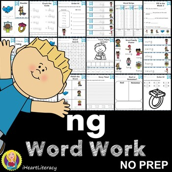 Word Work ng Digraphs and Trigraphs NO PREP