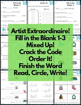 ock Word Family Word Work and Activities - Short O