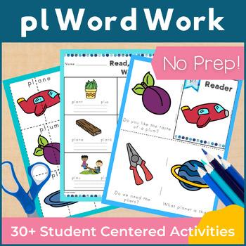 Word Work pl L Blends NO PREP