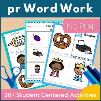Word Work pr R Blends NO PREP