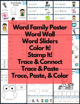 Word Work scr Three Letter Blends NO PREP