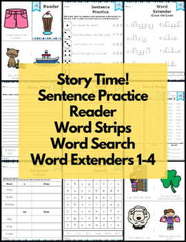 Word Work sh Digraphs and Trigraphs NO PREP