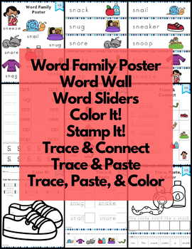 Word Work sn S Blends NO PREP
