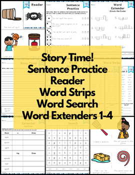 Word Work sp S Blends NO PREP