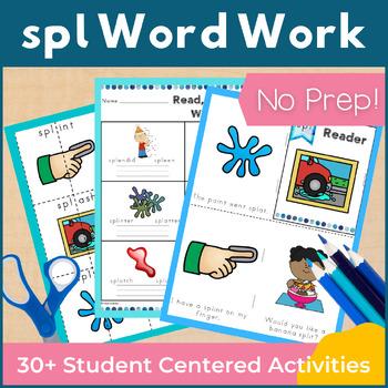 Word Work spl Three Letter Blends NO PREP