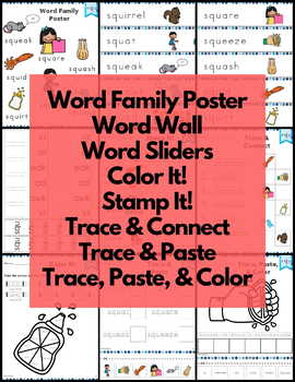 Word Work squ Three Letter Blends NO PREP