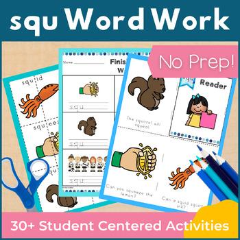Word Work squ Three Letter Blends NO PREP