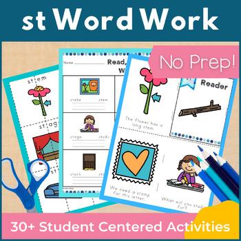Word Work st S Blends NO PREP