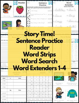 Word Work str Three Letter Blends NO PREP