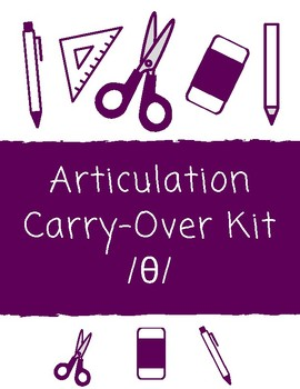 NO PREP and NO PRINT: Articulation Carry-Over Kit for θ!