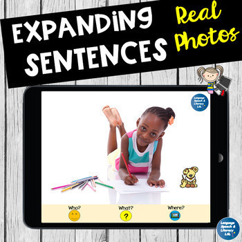 No Print  20 Language Activities for iPad Tablet Computer Teletherapy