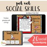 NO PRINT All About Pets Language Unit III - Pet Vet Problem Gauging & Solving