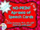 NO PRINT Apraxia of Speech Cards