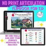 NO PRINT Articulation Flipbook for /t,d/