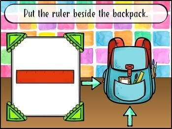 NO PRINT Back to School Following Directions