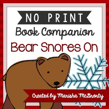 NO PRINT Bear Snores On {Book Companion}