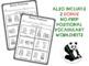 NO-PRINT Bunny Positional Vocabulary Interactive Book