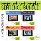 NO PRINT Communicating Compound & Complex Sentences BUNDLE
