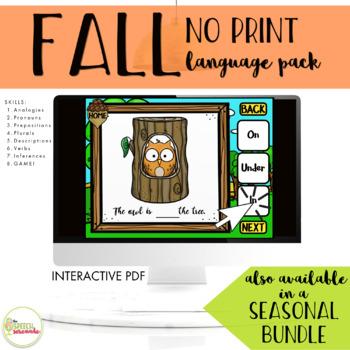 NO PRINT Fall Language Pack