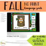 NO PRINT Fall Language Pack