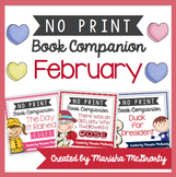 NO PRINT February Book Companion {BUNDLE}