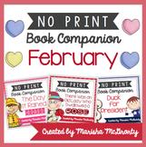 NO PRINT February Book Companion {BUNDLE}