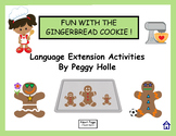 "NO PRINT Fun With Gingerbread Man Speech and Language Activities ""K"" Sound"