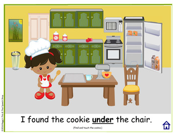 """NO PRINT Fun With Gingerbread Man Speech and Language Activities """"K"""" Sound"""