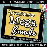 NO PRINT (Digital) Grammar Games (BUNDLE of 7 games) Dista
