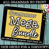 NO PRINT (Digital) Grammar Games (BUNDLE of 7 games) Dista