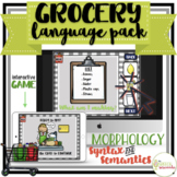 NO PRINT Grocery Store Language Pack