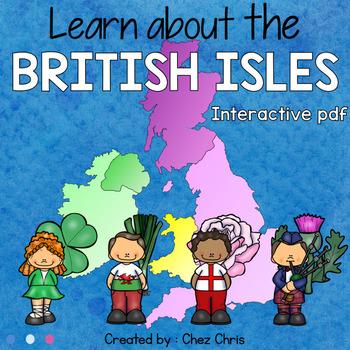 NO PRINT - Interactive PDF: The British Isles / The United Kingdom